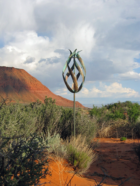 Desert-Flame-Lyman-Whitaker-Wind-Sculpture-red-desert
