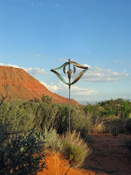 Element-Fire-Wind-Sculpture-Lyman-Whitaker-red-desert