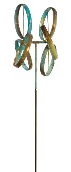 Shamrock-Lyman-Whitaker-Wind-Sculpture-Worthington-Gallery