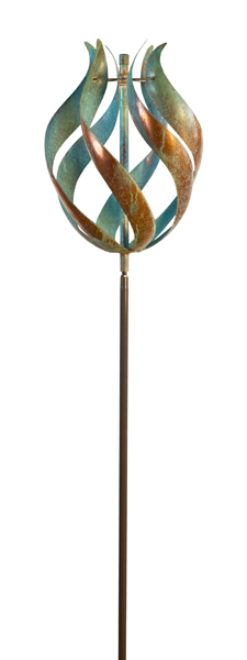 Tulip-Wind-Sculpture-by-Lyman-Whitaker-Worthington-Gallery