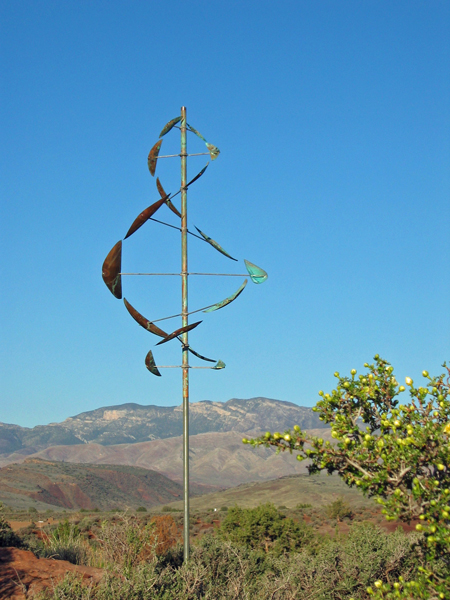 Wind-Dancer-Wind-Sculpture-by-Lyman-Whitaker-blue-sky