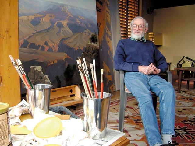 Jimmie Jones painter of Zion