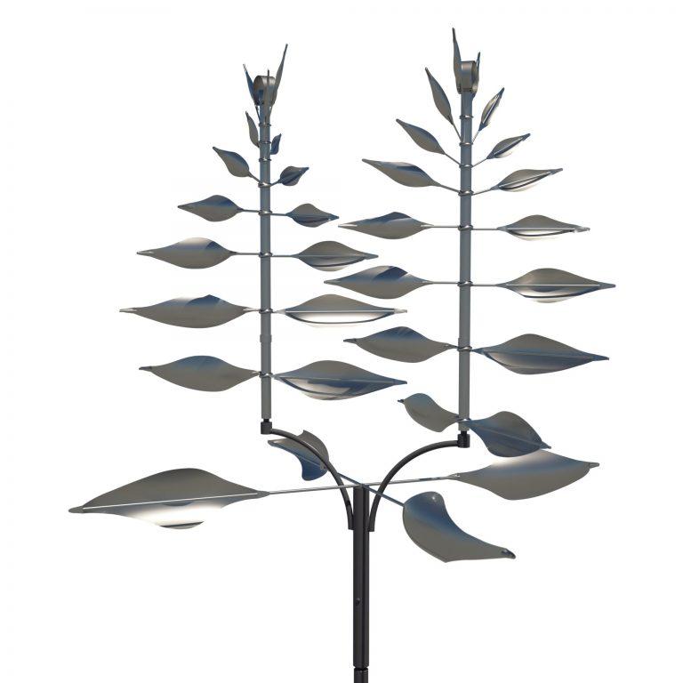 Lyman Whitaker Stainless Steel Wind Sculptures