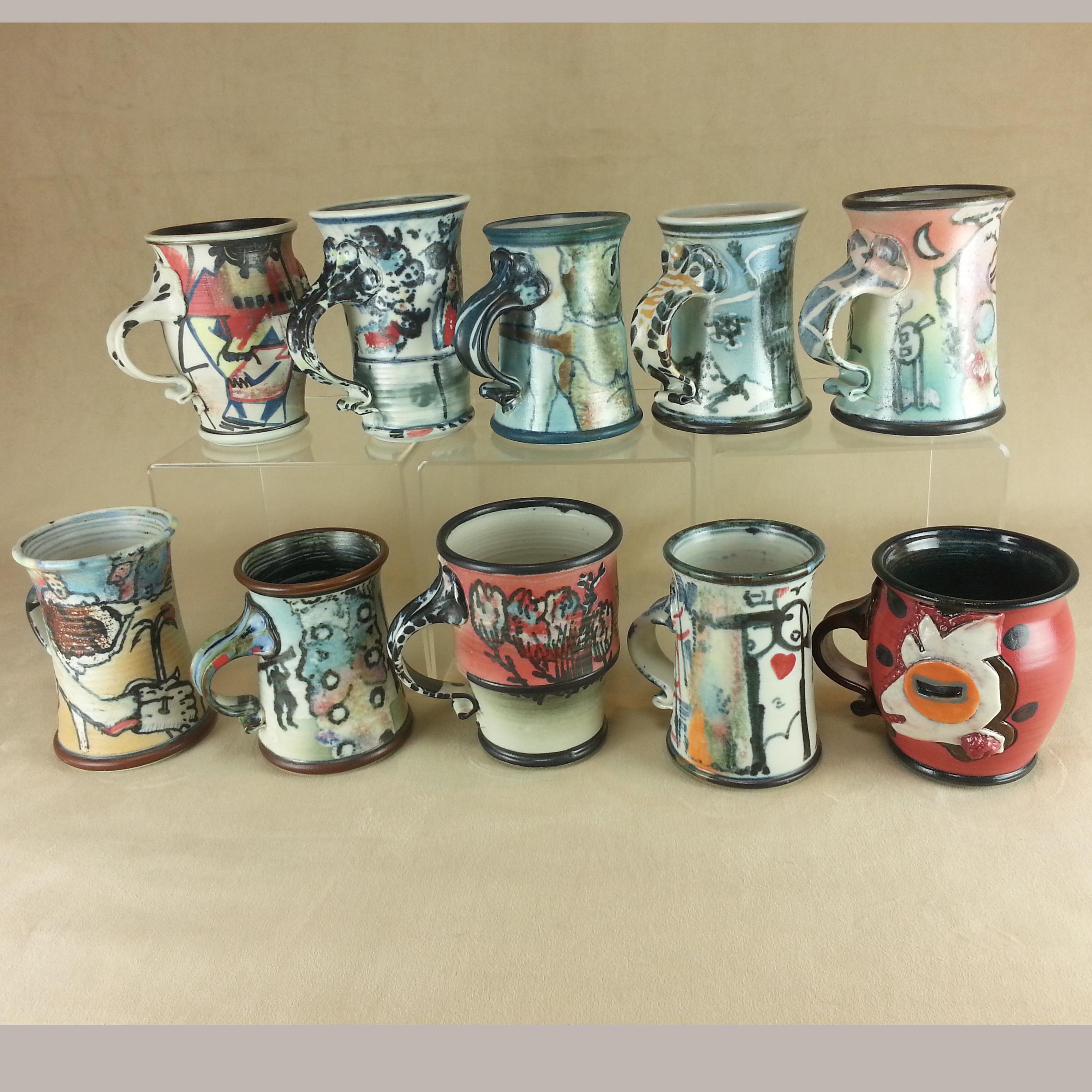Jim Stewart Mugs Worthington Gallery