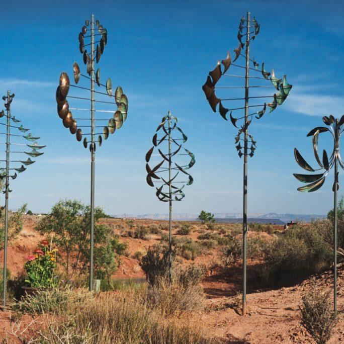 Lyman Whitaker Copper Wind Sculptures